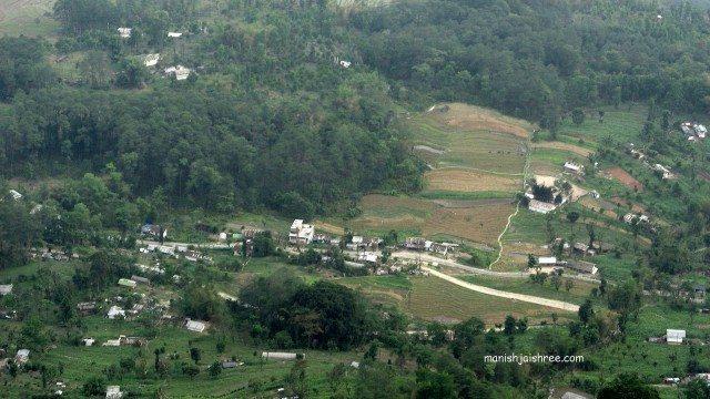 View from Sanga Choling