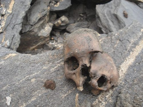 Another Roopkund skull