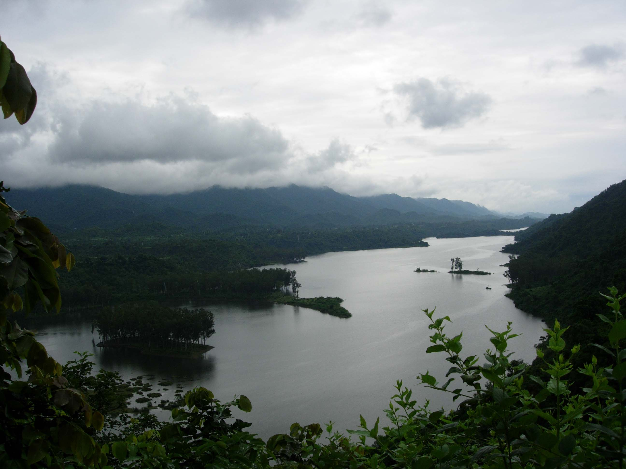 Breathtaking view of Govindsagar