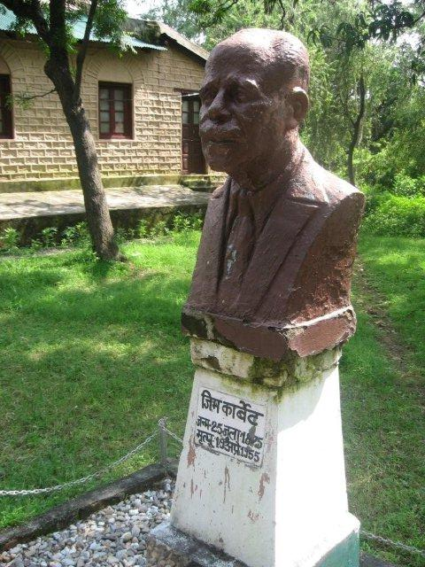 Statue of Jim Corbett