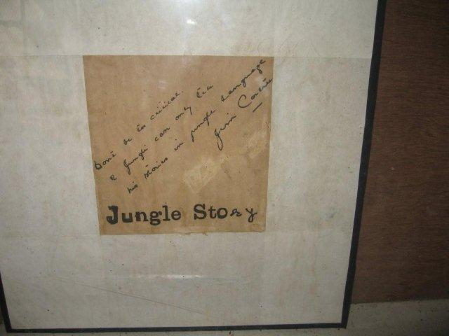 Jims Autograph - Jungle Story