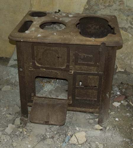 A pre war relic- a wood burner cooker that survived