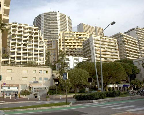 Concrete jungles of Monaco