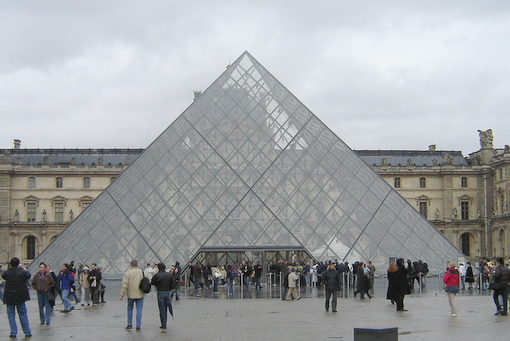 Louvre Main Entrance