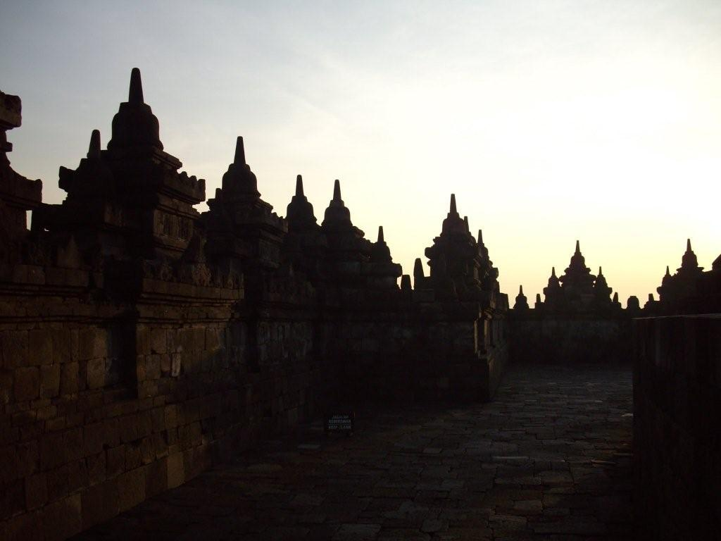 A View Of Borobudur Buddhist Relic