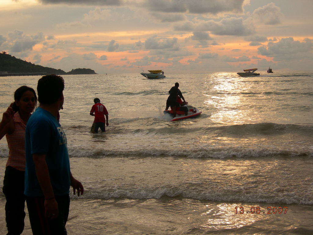 Jet Skiing at Patong
