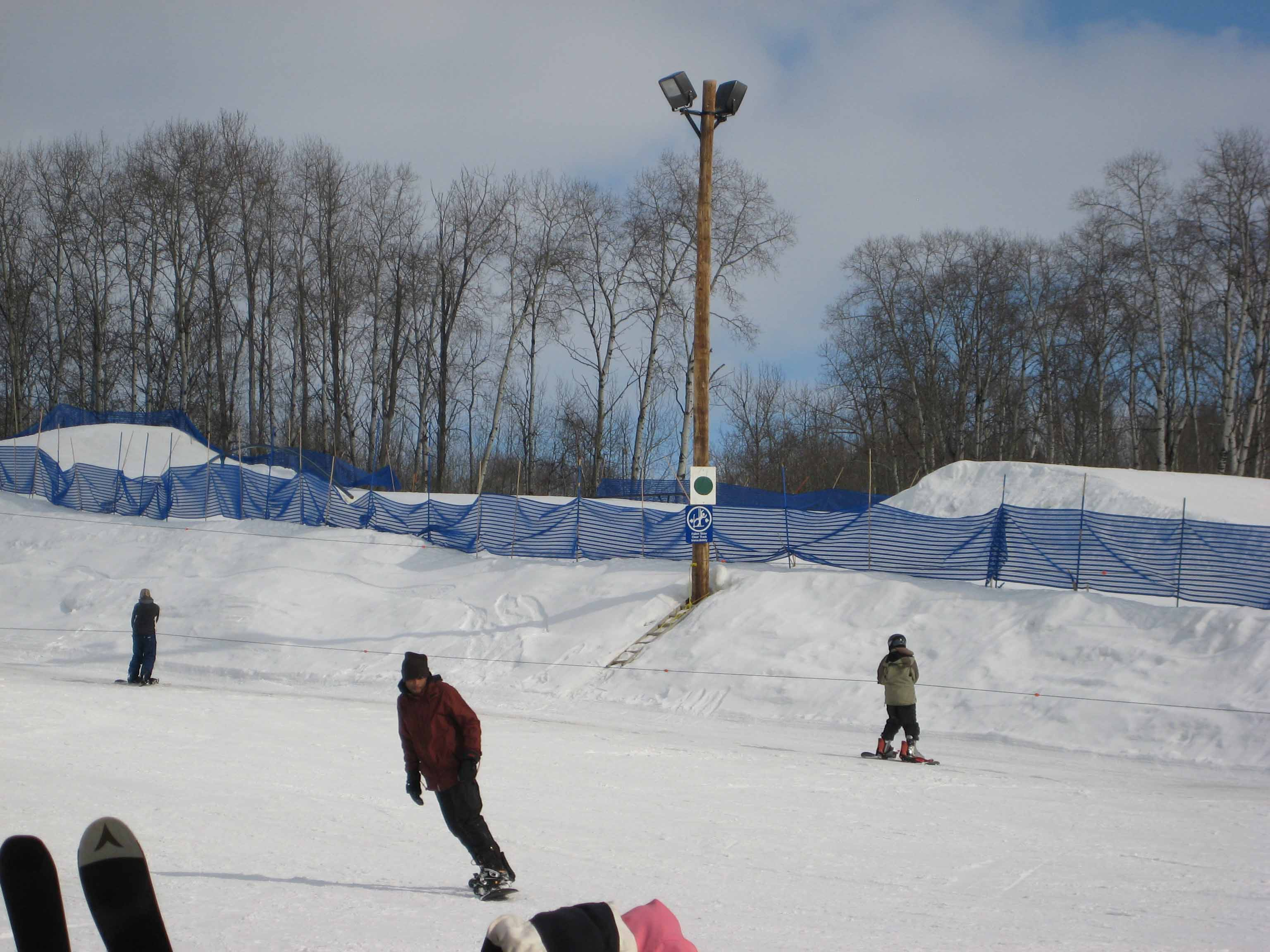 snowboarding in Canada