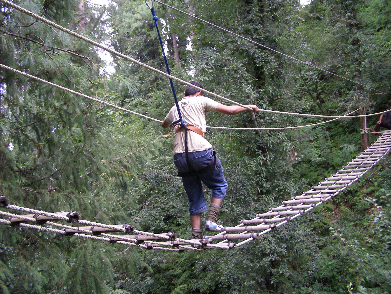 Burma Bridging @ Campsite