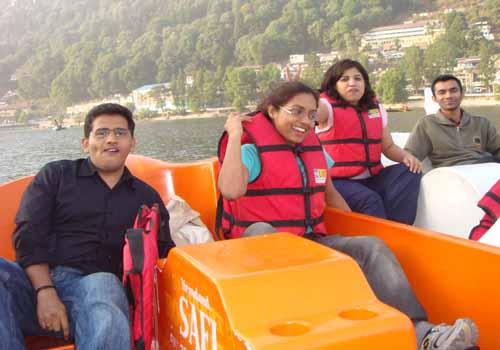 Boating in Nainital