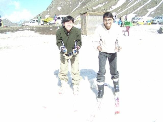 Rohtang on the snow