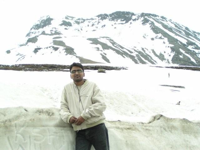 Rohtang La on Bike