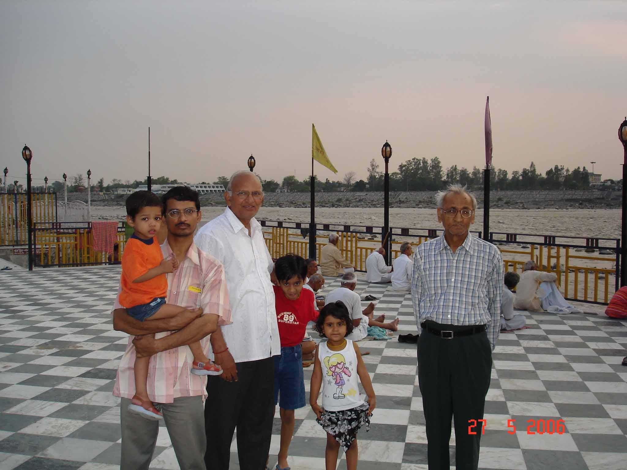At Geeta Bhavan, Rishikesh