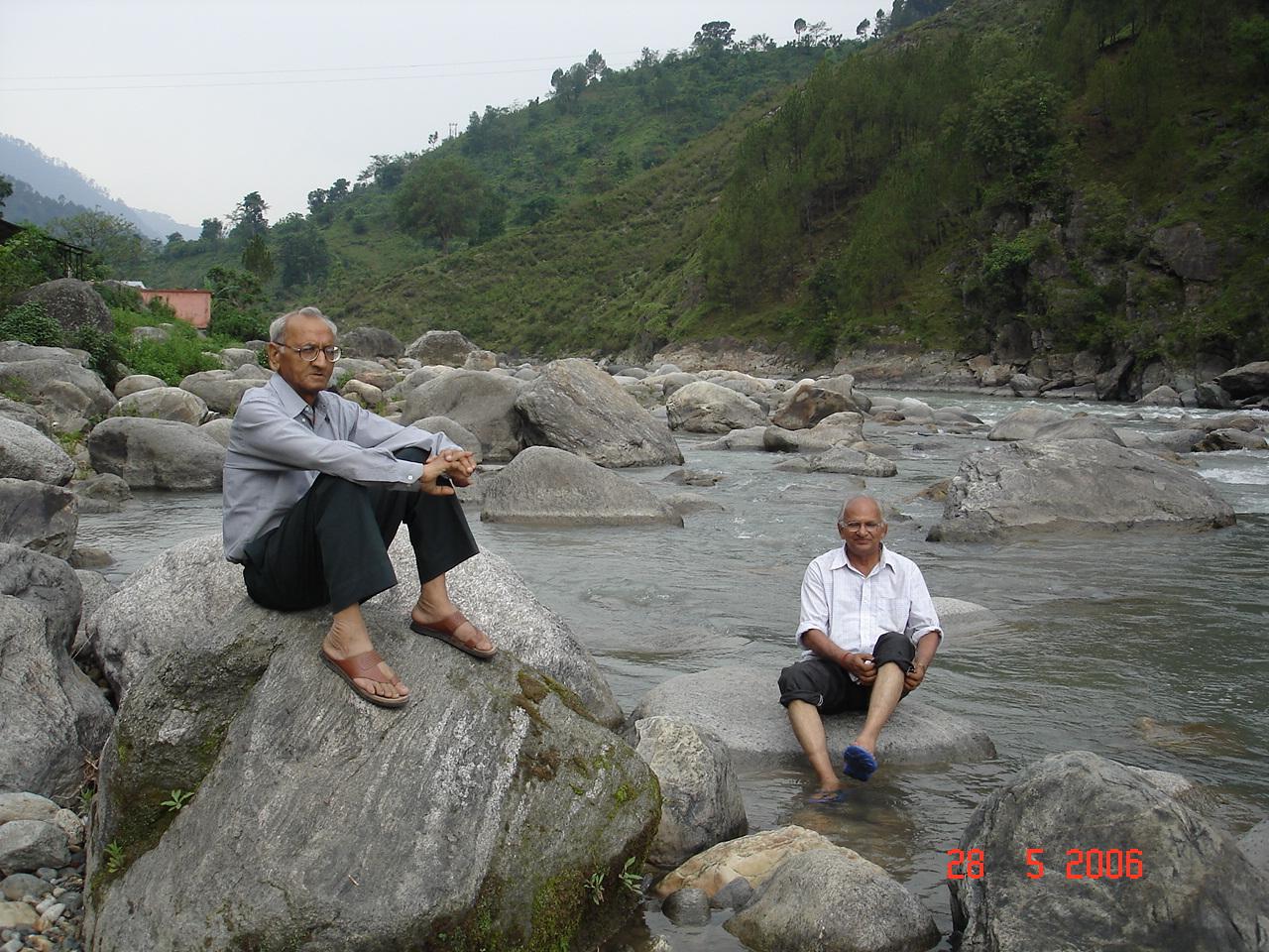 Chandrapuri riverbed