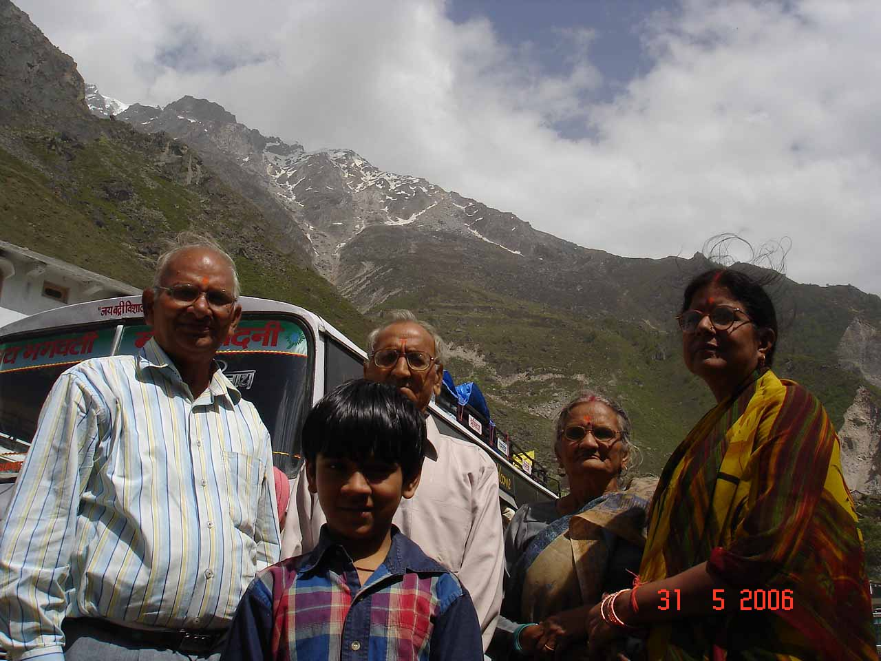 In the Badrinath Valley