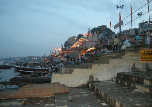 Ghat - Early evening
