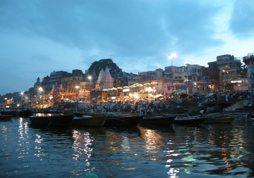 Banaras Ghat - Ganga and Temples