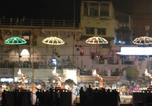 Banars Ghat - Evening Aarti