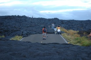 Lava on the Road