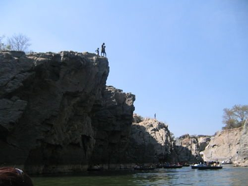 boys waiting to jump