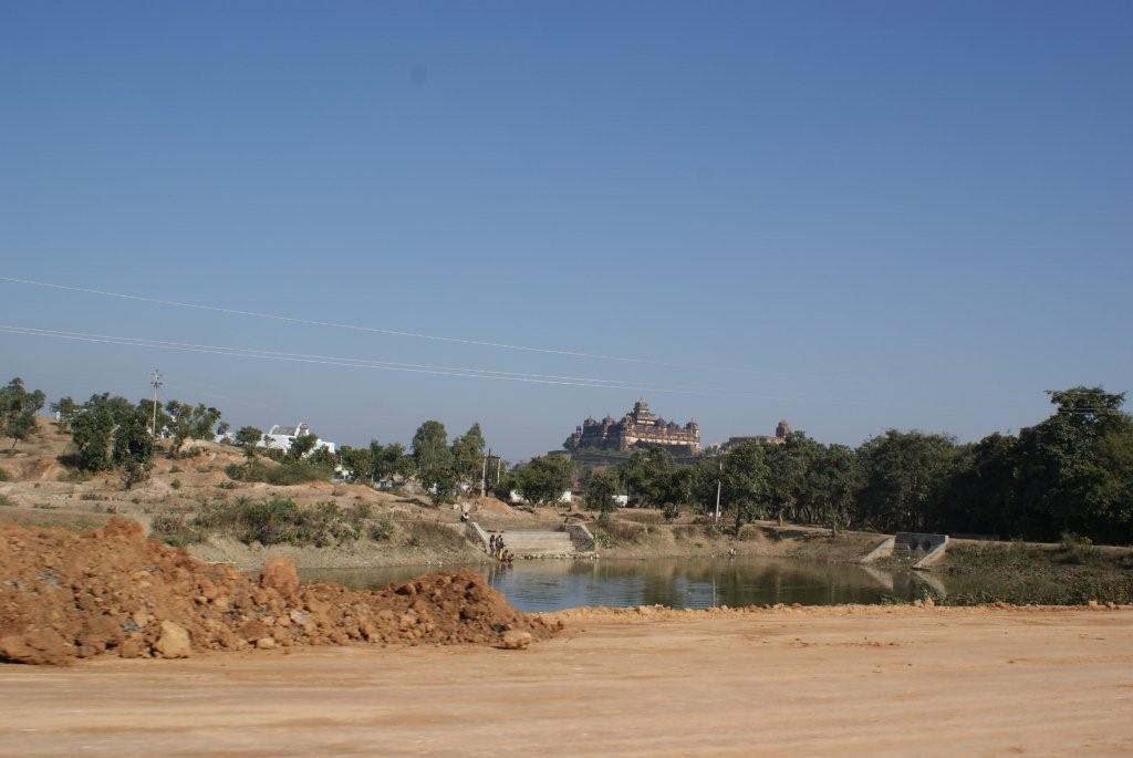 Datia Mahal on the way to Jhansi