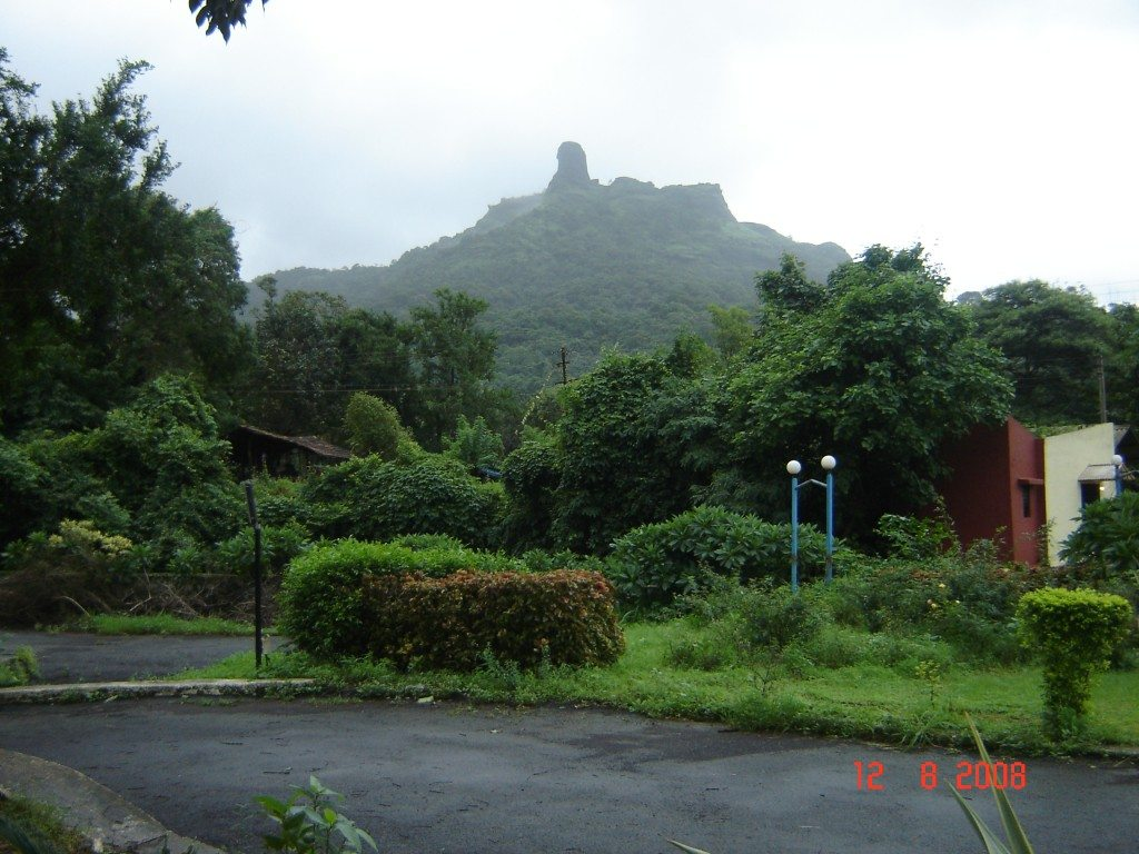 In the morning - Our Resort at Panvel