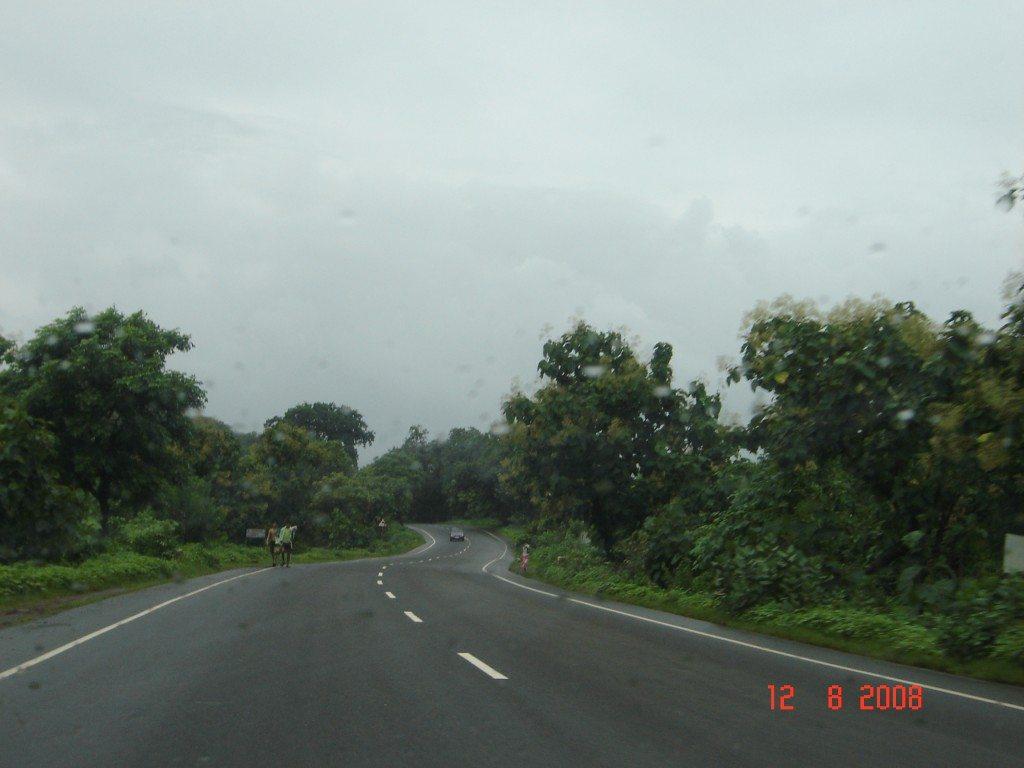 Road after Alibag