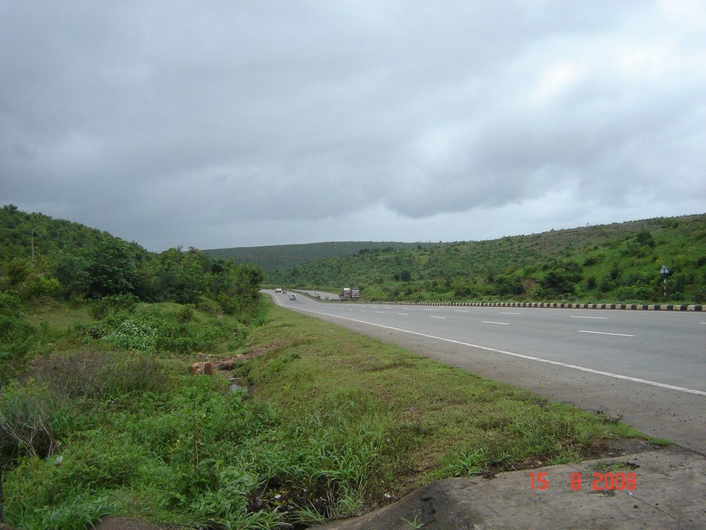Took first break at Belgaum on NH-4