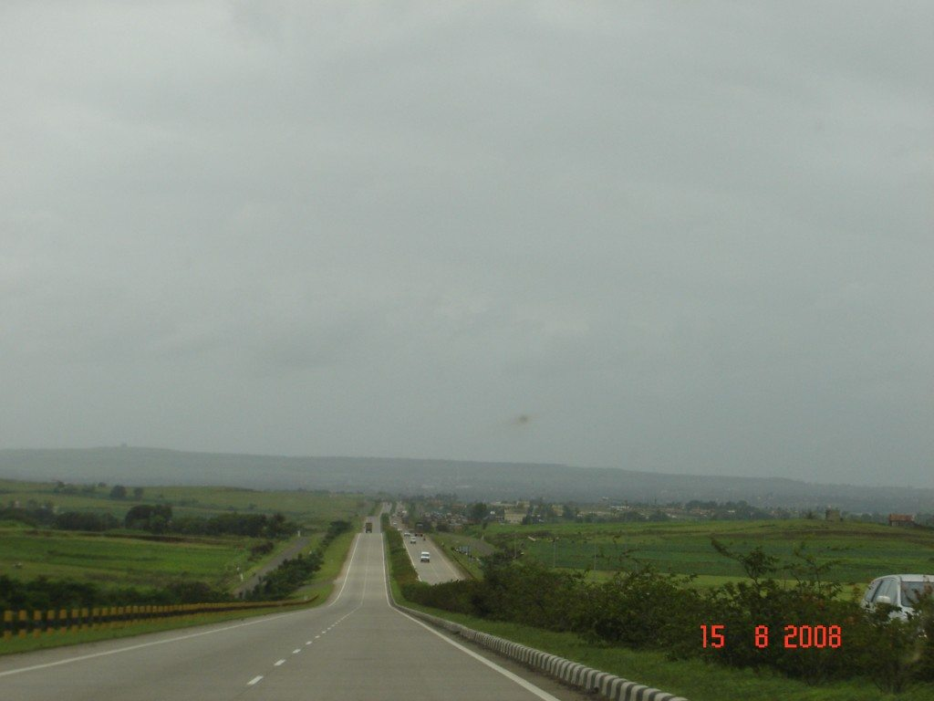 National Highway Number - 4 (heading towards Pune)