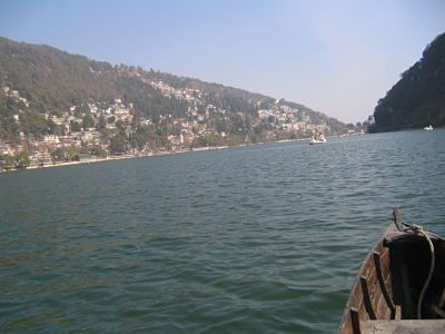 Beauty of Naini Lake and hills