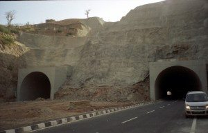Tunnels on NH76