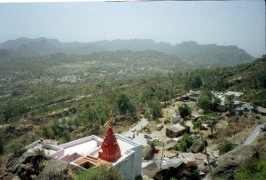 View from Gurushikhar, the highest point of Mt. Abu