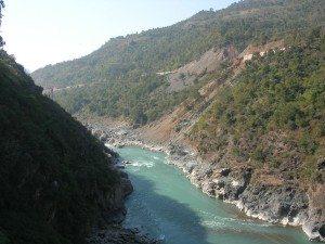 Ganga at Rudraprayag