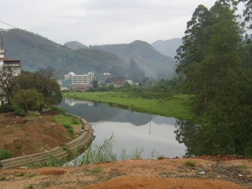 River near hotel