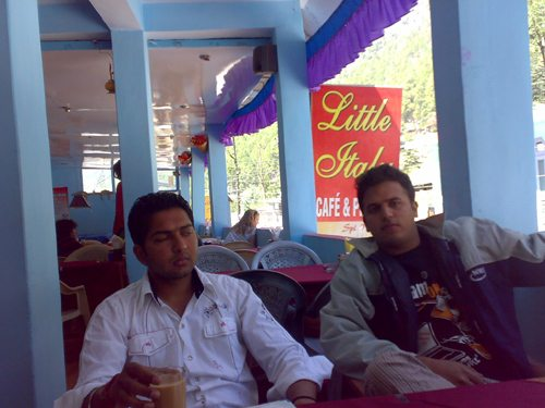 Arun and I