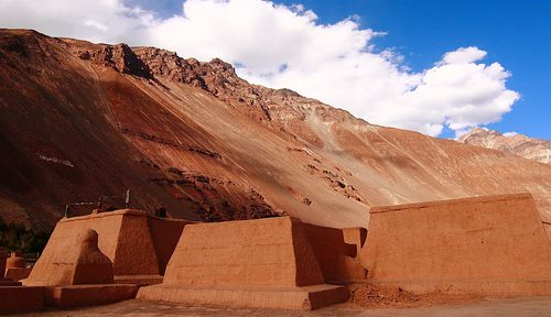 The Monastery at Tabo. Source: nikblues@flickr