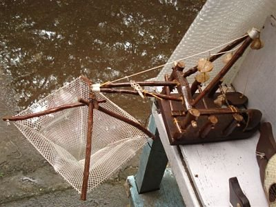 Model Chines Fishing Net