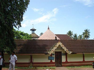 Vishnu Temple - Inside Dutch Palace compound