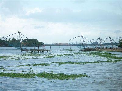 Chines Net -Fort Cochin Beach