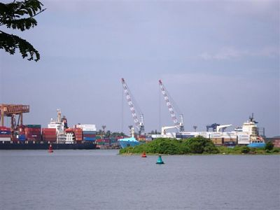 Kochi Port - Evening View