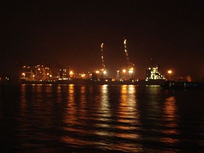 Kochi Port - Night View