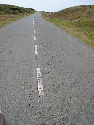 Road to Cherrapunjee