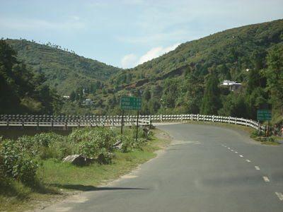 Road (Shillong to Cherrapunjee)