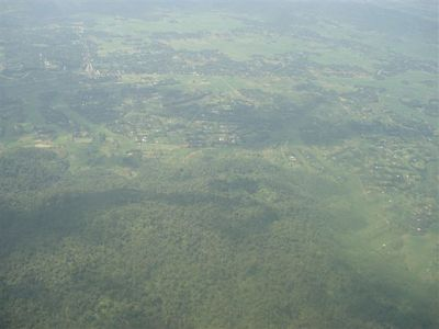Guwahati View from Flight