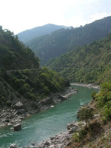 Kali or Sarda River near Champawat