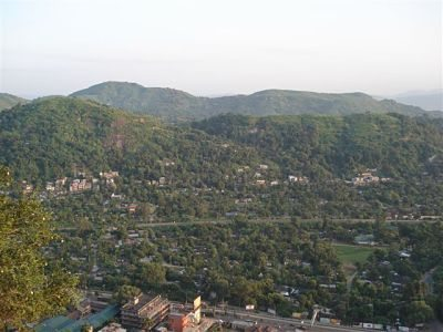 View point near Kamakhya Temple