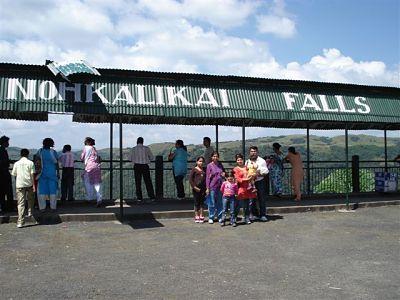 Nohkalikai Fall - View Point