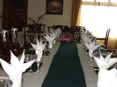 Army officer mess - dinning room
