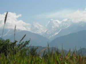 Panchachuli peaks from NandaDevi Temple, Munsiyari