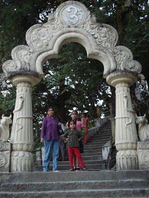 enterance - Shiva Temple (Umananda)