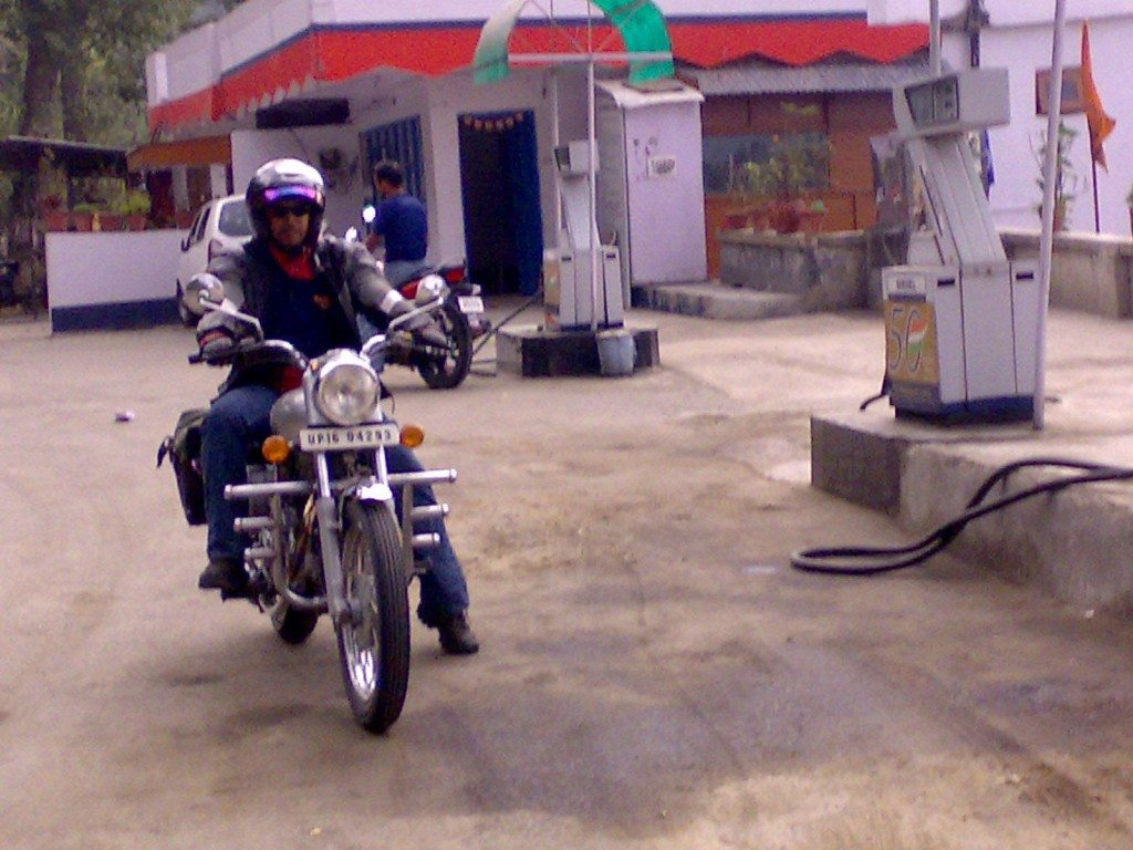 That's me at a filling station
